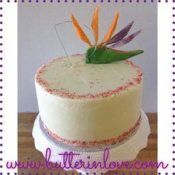Bird Of Paradise Cake