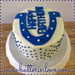 Colts Birthday Cake