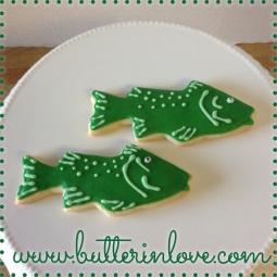 Fish Sugar Cookies