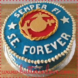 Semper Fi Cake