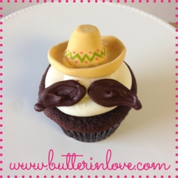 Sombero Cupcake