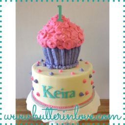 Tiered Cupcake Cake