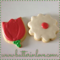 Tulip Sugar Cookies
