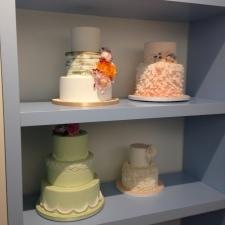Gorgeous sample cakes.