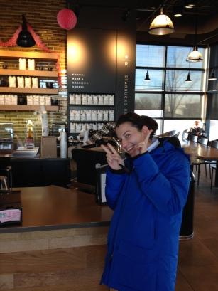 Last time at Starbucks!