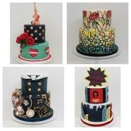 My classmates cakes.