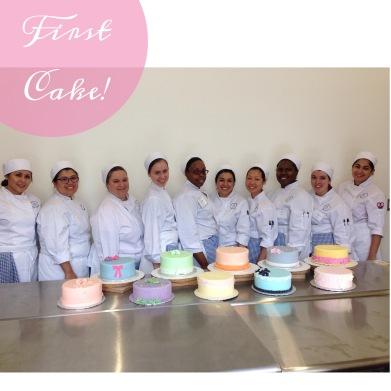 First weeks cake!